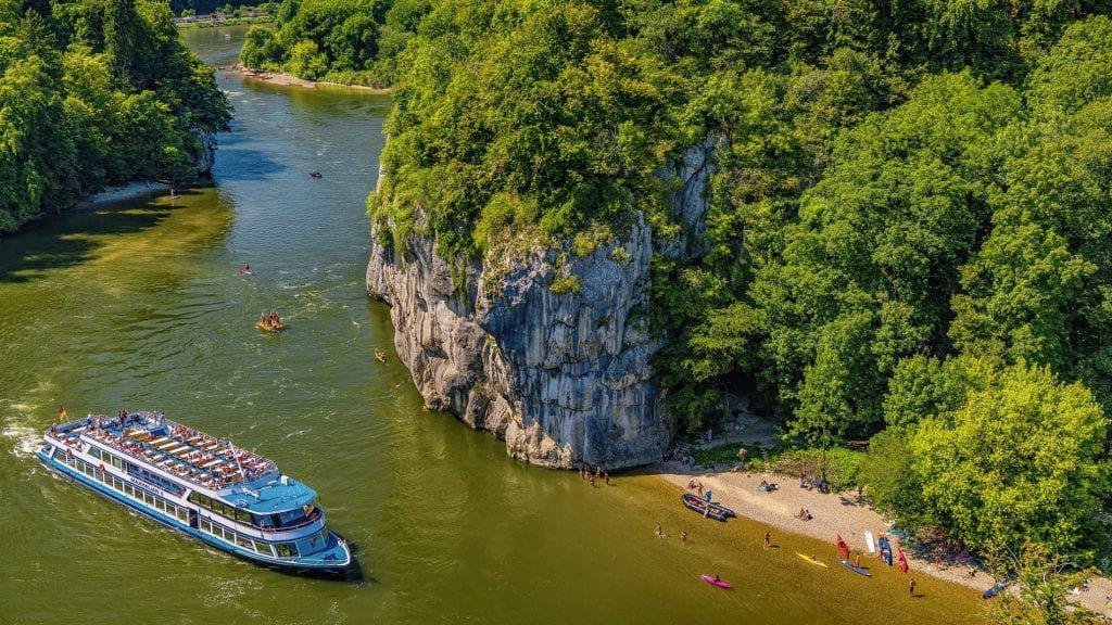 Sailing the Danube, Bavaria on a River Criuse